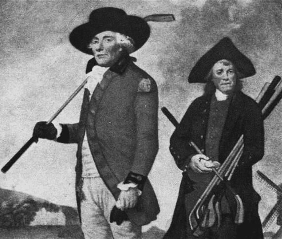 Golfeurs au 18° siècle