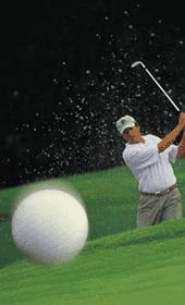 Joueur de golf