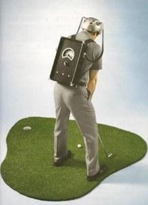 Expérience sur golfeur