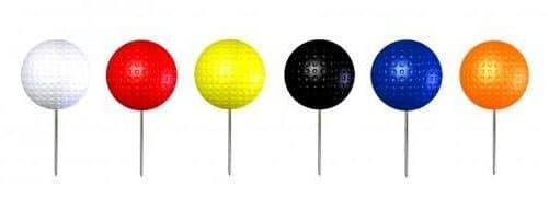 golf couleur de départ