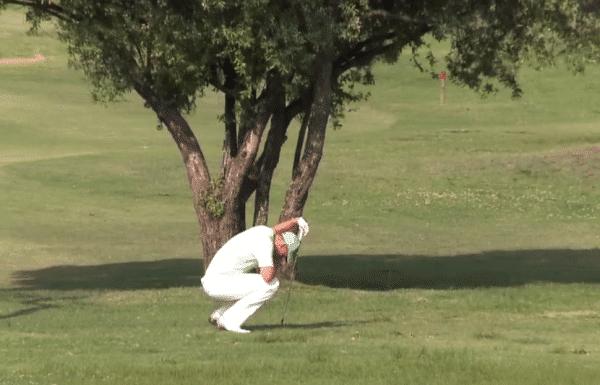 les émotions du golfeur